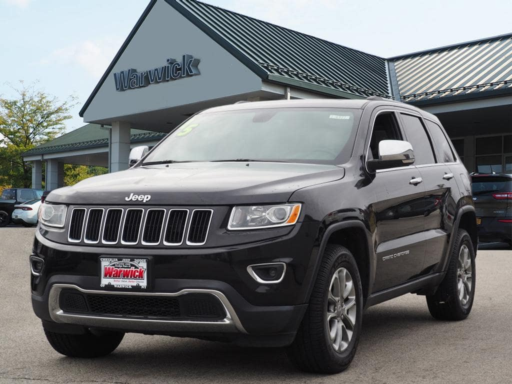 Photo Certified Pre-Owned 2015 Jeep Grand Cherokee Limited 4x4 Limited SUV in Warwick near Ramsey, NJ