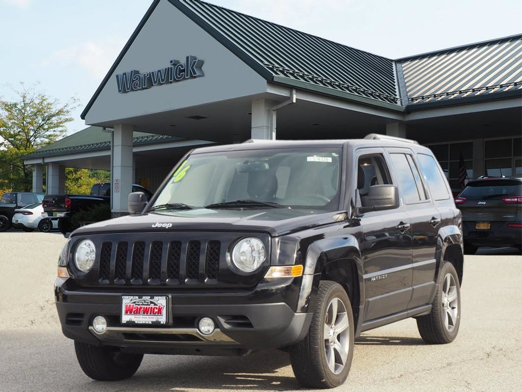 Photo Certified Pre-Owned 2016 Jeep Patriot High Altitude 4x4 High Altitude SUV in Warwick near Ramsey, NJ