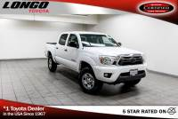 Certified Used 2013 Toyota Tacoma 2WD Double Cab V6 Automatic PreRunner in El Monte