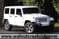 Used 2016 Jeep Wrangler Unlimited Sahara Sport Utility 4D SUV in Walnut Creek CA
