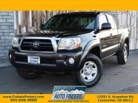 2007 Toyota Tacoma 4WD Access V6 MT (Natl)