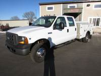 Used 2005 Ford F-350 4x4 Crew-Cab Service Utility Truck