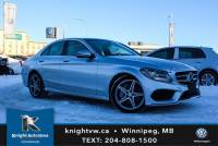 Pre-Owned 2017 Mercedes-Benz C-Class C 300 4Matic w/ AMG PKG/Sunroof/Nav AWD 4MATIC 4dr Car