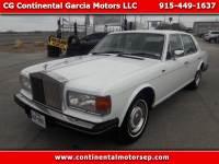 1986 Rolls-Royce Silver Spirit Base