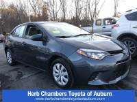2016 Toyota Corolla LE Car Front-wheel Drive