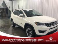 Certified 2018 Jeep Compass Limited FWD SUV in Greensboro NC