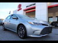 2017 Toyota Avalon XLE Premium Sedan Front-wheel Drive