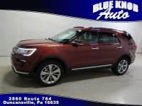 2018 Ford Explorer Limited SUV in Duncansville | Serving Altoona, Ebensburg, Huntingdon, and Hollidaysburg PA