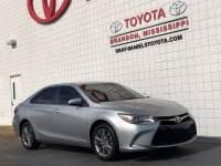 Certified 2016 Toyota Camry SE Sedan Front-wheel Drive in Brandon MS