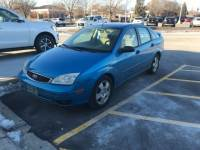 2007 Ford Focus S Sedan Duratec I4 DOHC