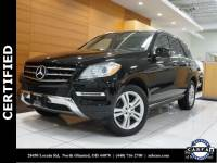 Certified Pre-Owned 2014 Mercedes-Benz M-Class ML 350 AWD 4MATIC®