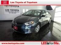 Used 2016 Toyota Corolla LE Premium near Portland, ME
