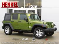 PRE-OWNED 2007 JEEP WRANGLER JK UNLIMITED X 4X4 4WD