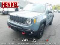 PRE-OWNED 2017 JEEP RENEGADE TRAILHAWK 4X4 4WD