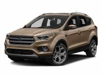 2018 Ford Escape Titanium SUV EcoBoost I4 GTDi DOHC Turbocharged VCT
