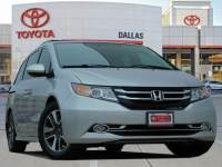 2015 Honda Odyssey Touring Van Front-wheel Drive For Sale Serving Dallas Area
