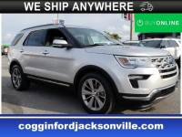 Certified 2018 Ford Explorer Limited SUV Intercooled Turbo Premium Unleaded I-4 140 in Jacksonville FL