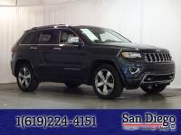 Certified 2014 Jeep Grand Cherokee Overland 4x4 SUV in San Diego