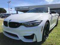 Pre-Owned 2018 BMW M4 Rear Wheel Drive Convertible