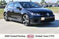 2016 Volkswagen Golf R 4-Door Hatchback near Houston in Tomball, TX