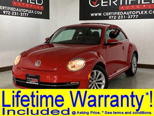 Photo 2014 Volkswagen Beetle Coupe TDI HEATED LEATHER SEATS BLUETOOTH KEYLESS GO PUSH BUTTON START CRUISE CONT