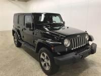 Certified Used 2016 Jeep Wrangler JK Unlimited Sahara 4x4 SUV in Toledo