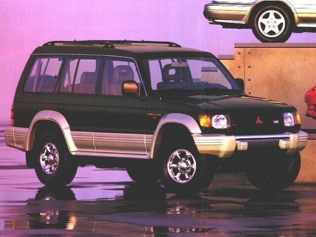 Photo Used 1996 Mitsubishi Montero LS For Sale  Houston TX  Stock TJ009838