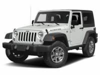 Used 2017 Jeep Wrangler JK Rubicon 4x4 in Pittsfield MA
