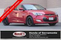 Pre-Owned 2012 Hyundai Veloster 3dr Cpe Auto w/Red Int