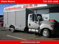 2012 International TerraStar SIDE DOOR ROLL UP BOX TRUCK, BEVERAGE TRUCK