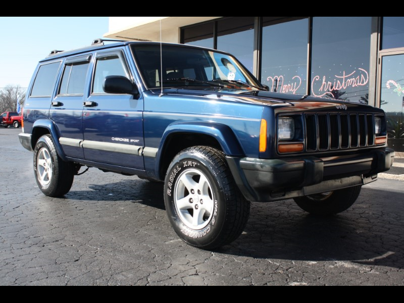 Photo 2000 Jeep Cherokee Sport 4-Door 4WD