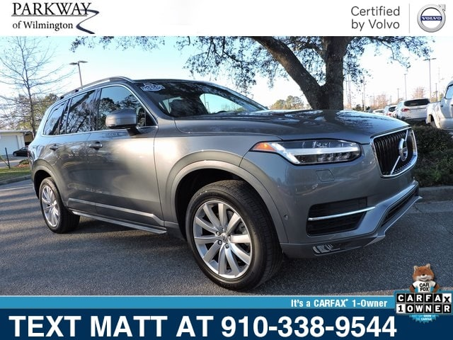 Photo Certified Used 2018 Volvo XC90 T5 Momentum For Sale  Wilmington NC