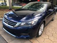Pre Owned 2015 Honda Accord Sedan EX-L CVT PZEV VIN1HGCR2F8XFA163383 Stock Number9051502