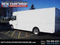 2018 Ford Stripped Chassis 18' STEP VAN