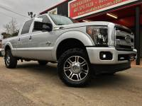 2013 Ford F-250 SD PLATINUM CREW CAB SHORT BED 4WD LEVELED