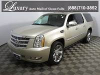 Pre-Owned 2013 CADILLAC ESCALADE ESV Platinum Edition SUV for Sale in Sioux Falls near Brookings