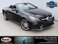 2015 Mercedes-Benz E-Class E 550 2dr Cabriolet RWD in Franklin