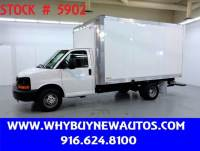 2016 Chevrolet Express 3500 ~ 14ft Box Van ~ Only 2K Miles!