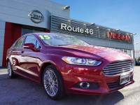 Used 2015 Ford Fusion SE Sedan for sale in Totowa NJ