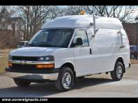 2010 Chevrolet Express 3500 High Top Cargo Van for sale in Flushing MI