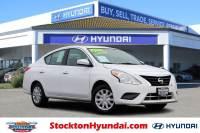 Used 2016 Nissan Versa 1.6 Sedan For Sale Stockton, California