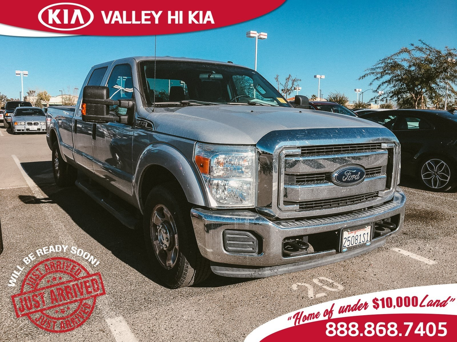 Photo 2015 Ford F-250 Truck Crew Cab in Victorville, CA