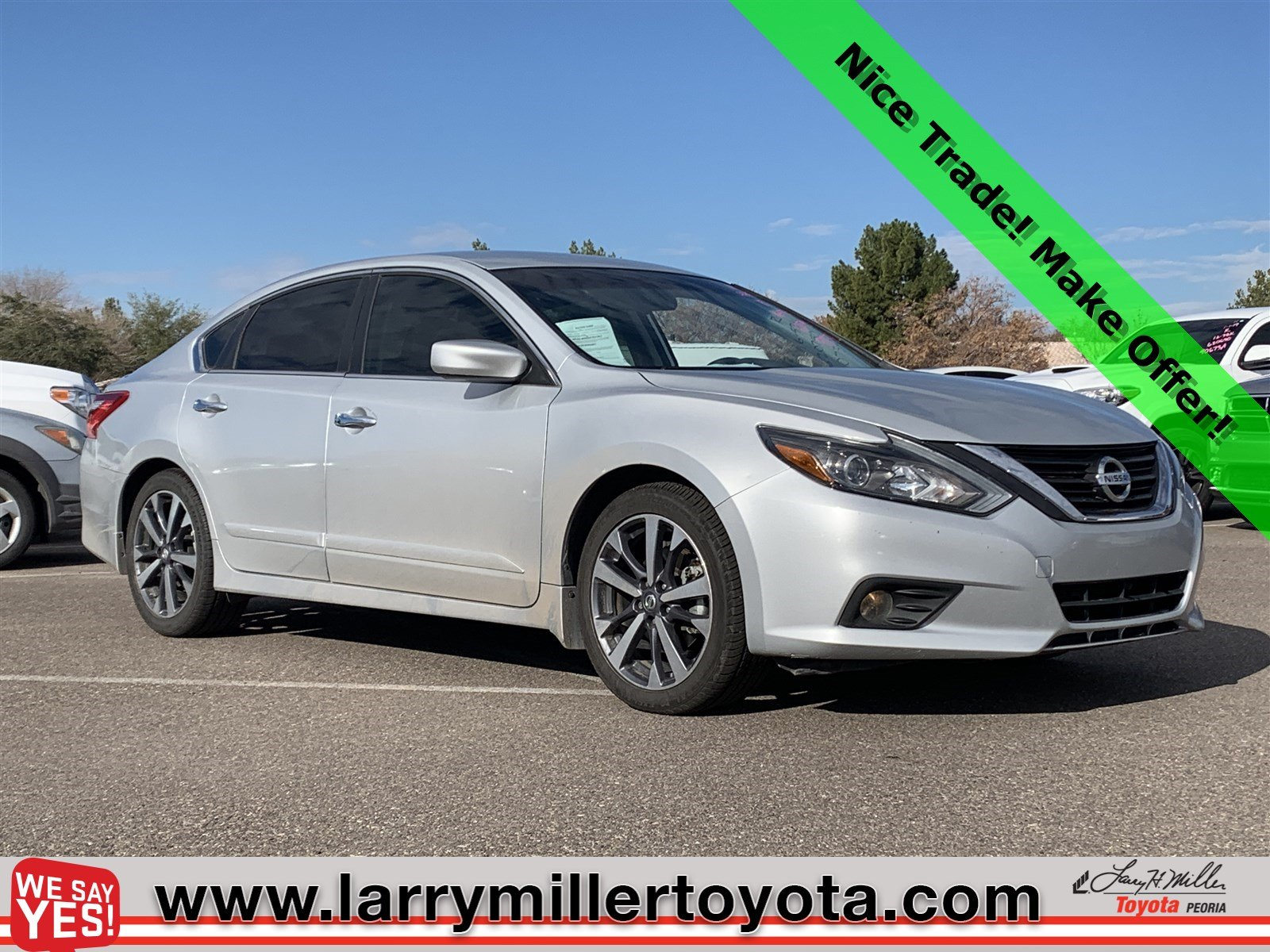 Photo Used 2016 Nissan Altima For Sale  Peoria AZ  Call 602-910-4763 on Stock 90073A