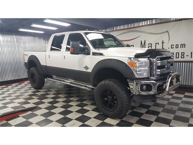 Photo 2011 Ford F-350 Crew Cab Lariat FX4 Lifted 4X4 Diesel 1 OWNER