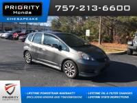 Used 2013 Honda Fit Sport Hatchback in Chesapeake, VA