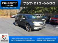 Used 2011 Acura MDX With Technology Package SUV in Chesapeake, VA
