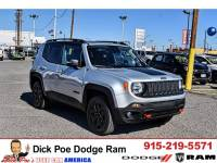 2018 Jeep Renegade Trailhawk 4x4 suv for sale in El Paso