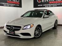 2017 Mercedes-Benz C63 AMG NAVIGATION PANORAMIC ROOF BLIND SPOT ASSIST ATTENTION ASSIST ACTIVE BRA