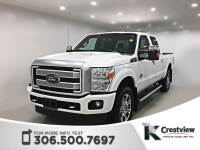 Certified Pre-Owned 2016 Ford Super Duty F-350 SRW Platinum Crew Cab | Leather 4WD Crew Cab Pickup