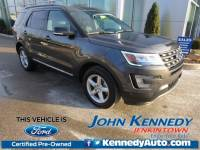 Certified 2017 Ford Explorer XLT SUV 6-Cylinder SMPI DOHC in Jenkintown